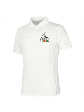 Team Cricket Polo White Half Sleeve